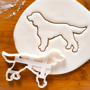 Working Cocker Spaniel Silhouette Cookie Cutter
