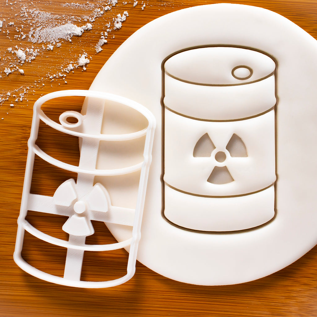 Nuclear Waste Container Cookie Cutter