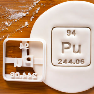 Plutonium Periodic Table Element Cookie Cutter