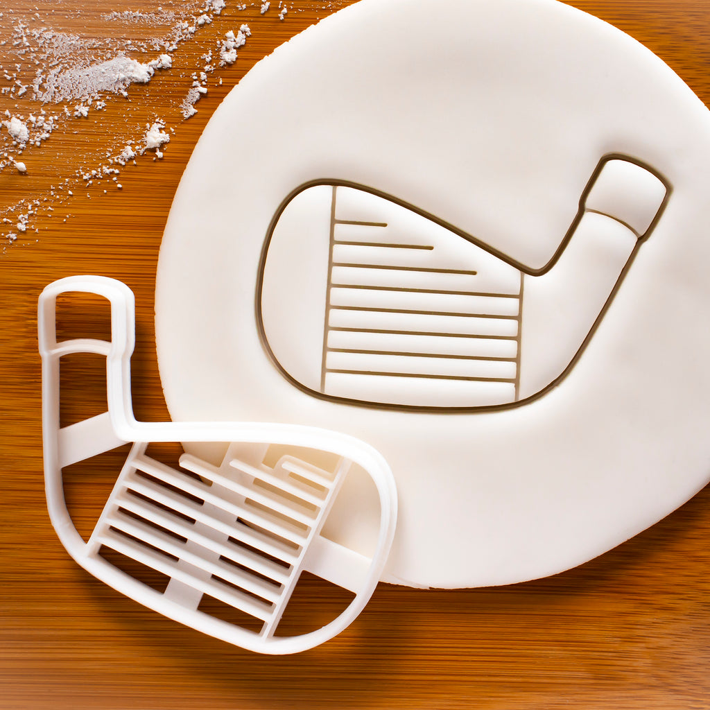 Golf Club Iron Cookie Cutter