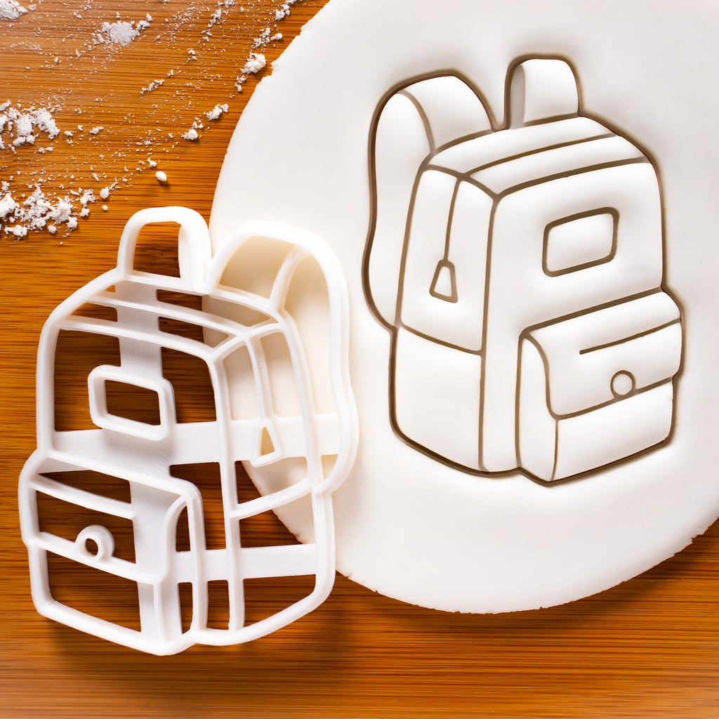 Back to School Backpack Cookie Cutter