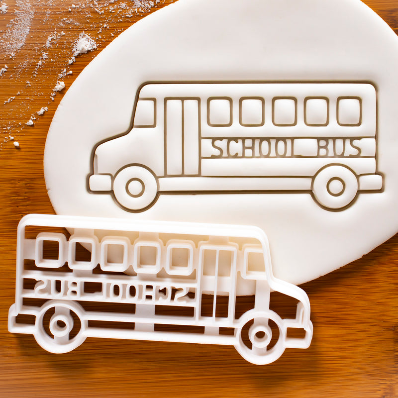 Back to School School Bus Cookie Cutter