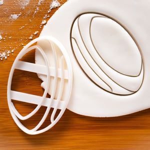 Rugby Ball Cookie Cutter