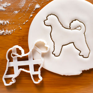 Portuguese Water Dog Silhouette cookie cutter