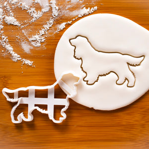 Show Cocker Spaniel Silhouette cookie cutter