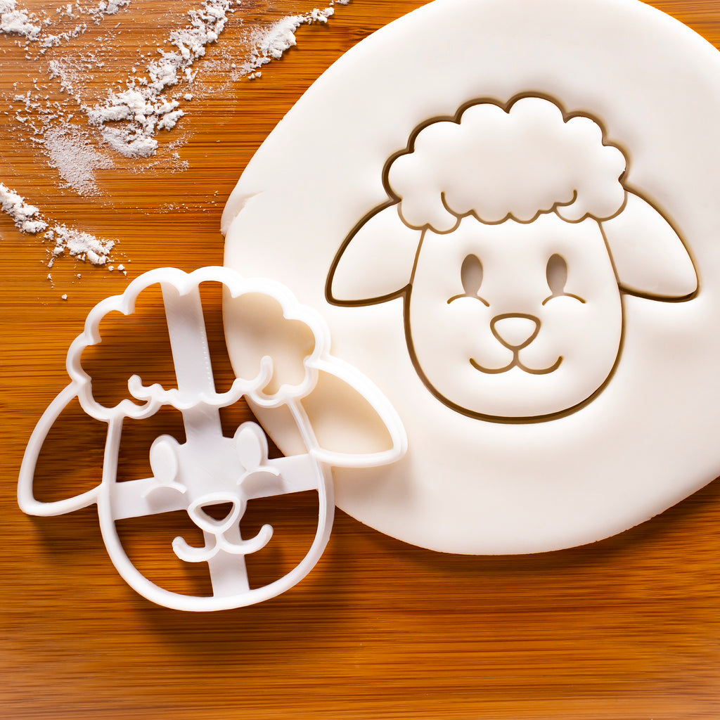 Sheep Face cookie cutter