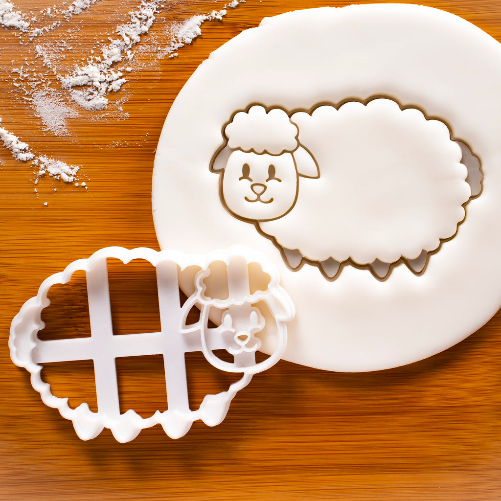 Sheep Body cookie cutter