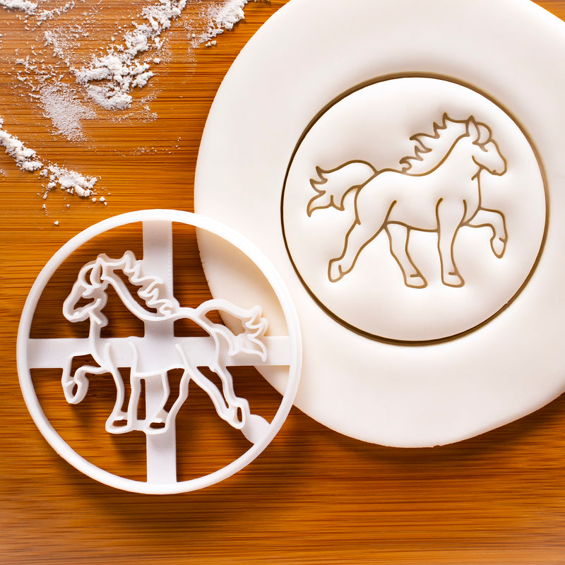 Tolting Icelandic Horse cookie cutter