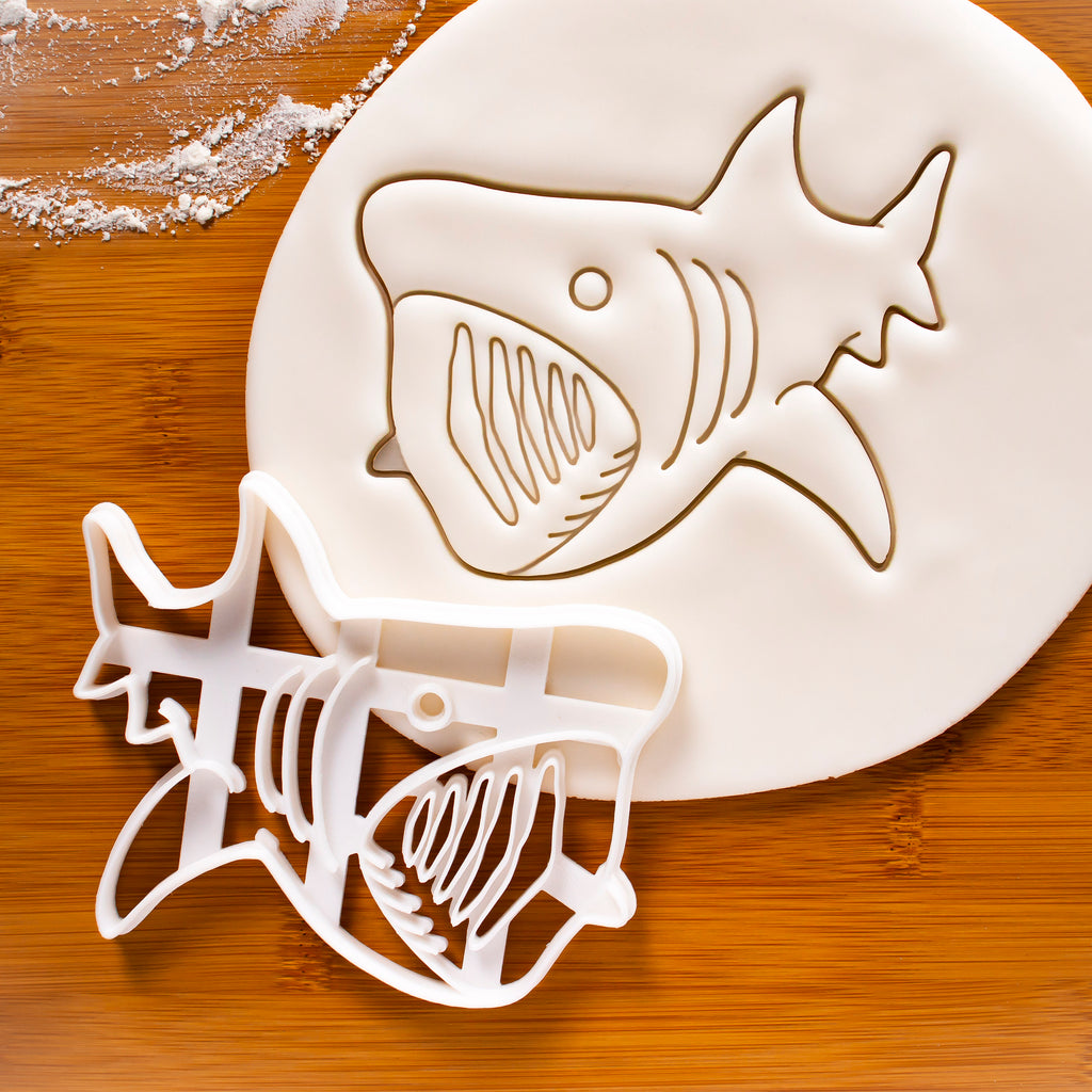 Deep Sea Basking Shark Cookie Cutter
