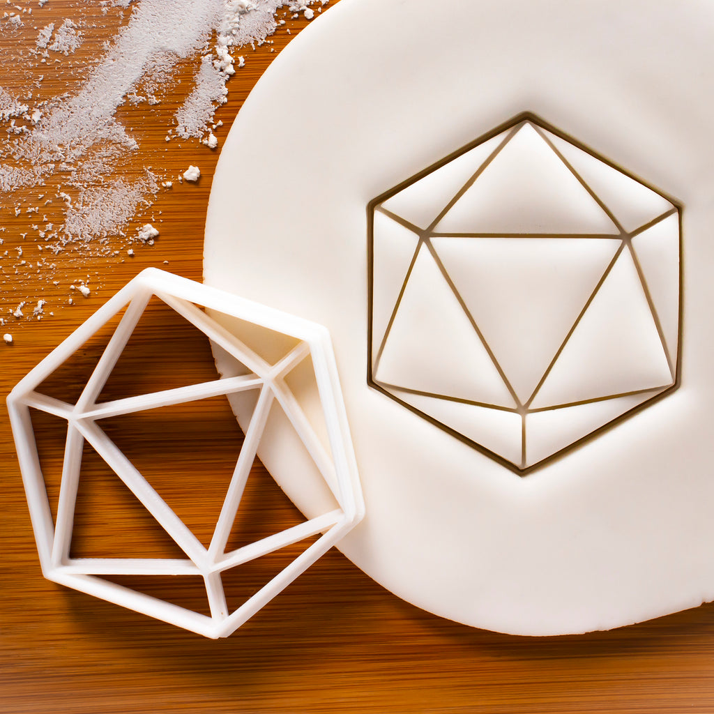 Icosahedron Cookie Cutter
