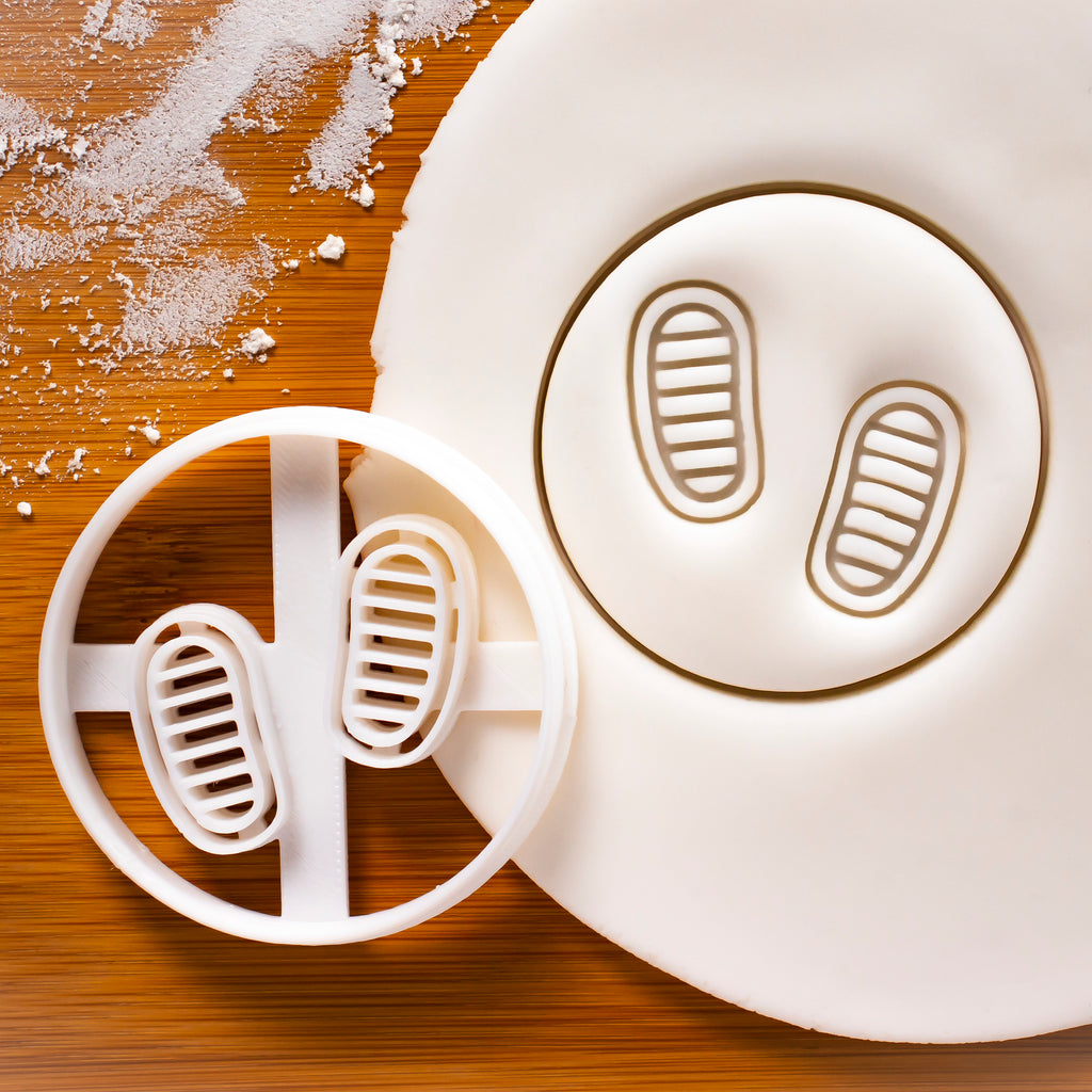 Astronaut Footprints cookie cutter