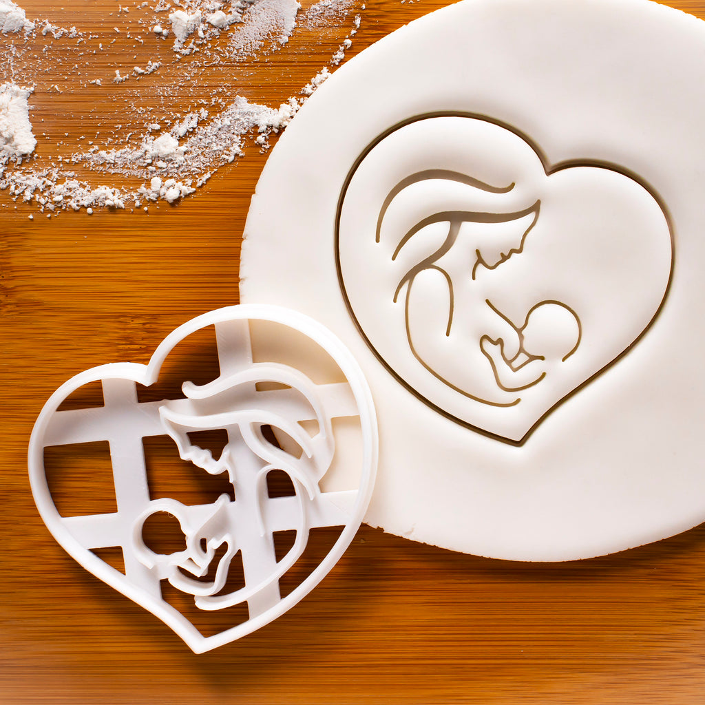 Breastfeeding cookie cutter