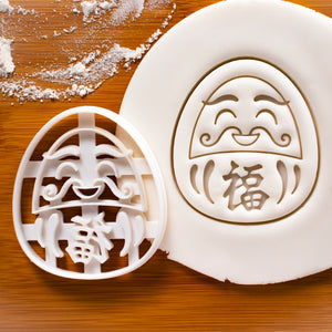 Happy Daruma Doll Cookie Cutter