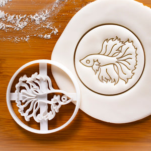 Betta Fish cookie cutter