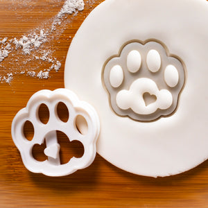 cute kitty paw cookie cutter