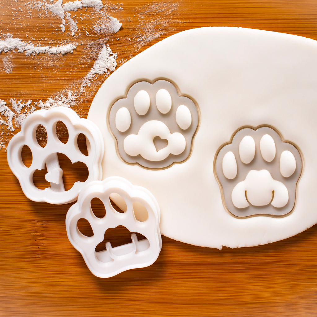 Cute and Realistic Kitty Paw cookie cutters