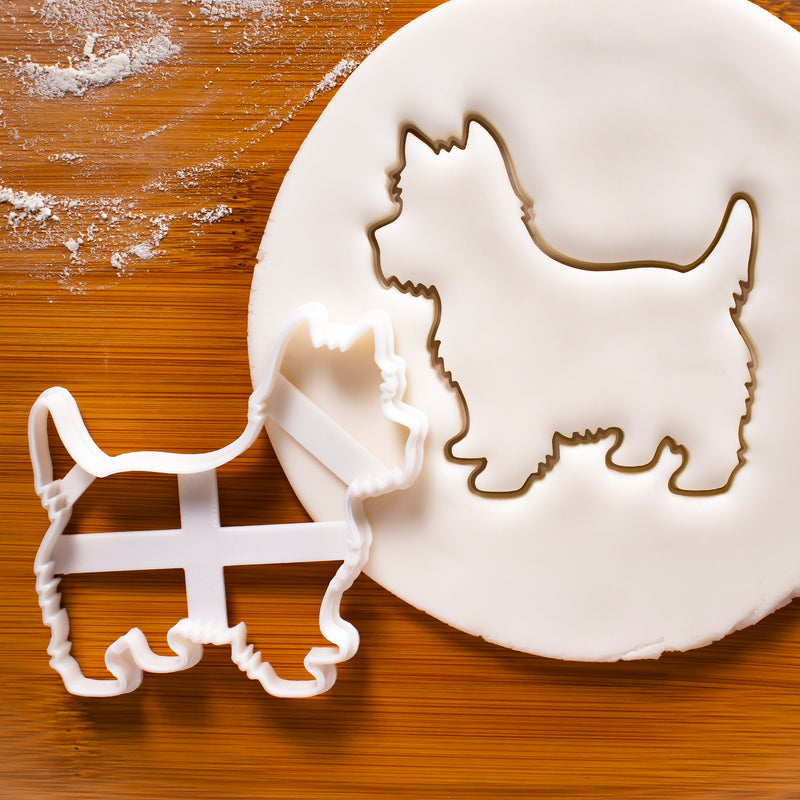 West Highland White Terrier Dog Silhouette cookie cutter
