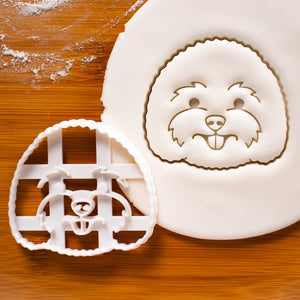 Bichon Frise Face Cookie Cutter