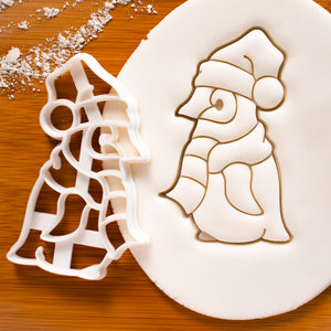 Christmas Baby Penguin cookie cutter