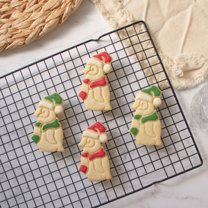 Christmas Baby Penguin Chick cookies