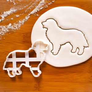 Bernese Mountain Dog Face Dog Silhouette cookie cutter