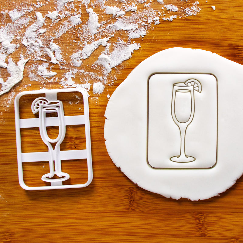 Bellini Cocktail cookie cutter