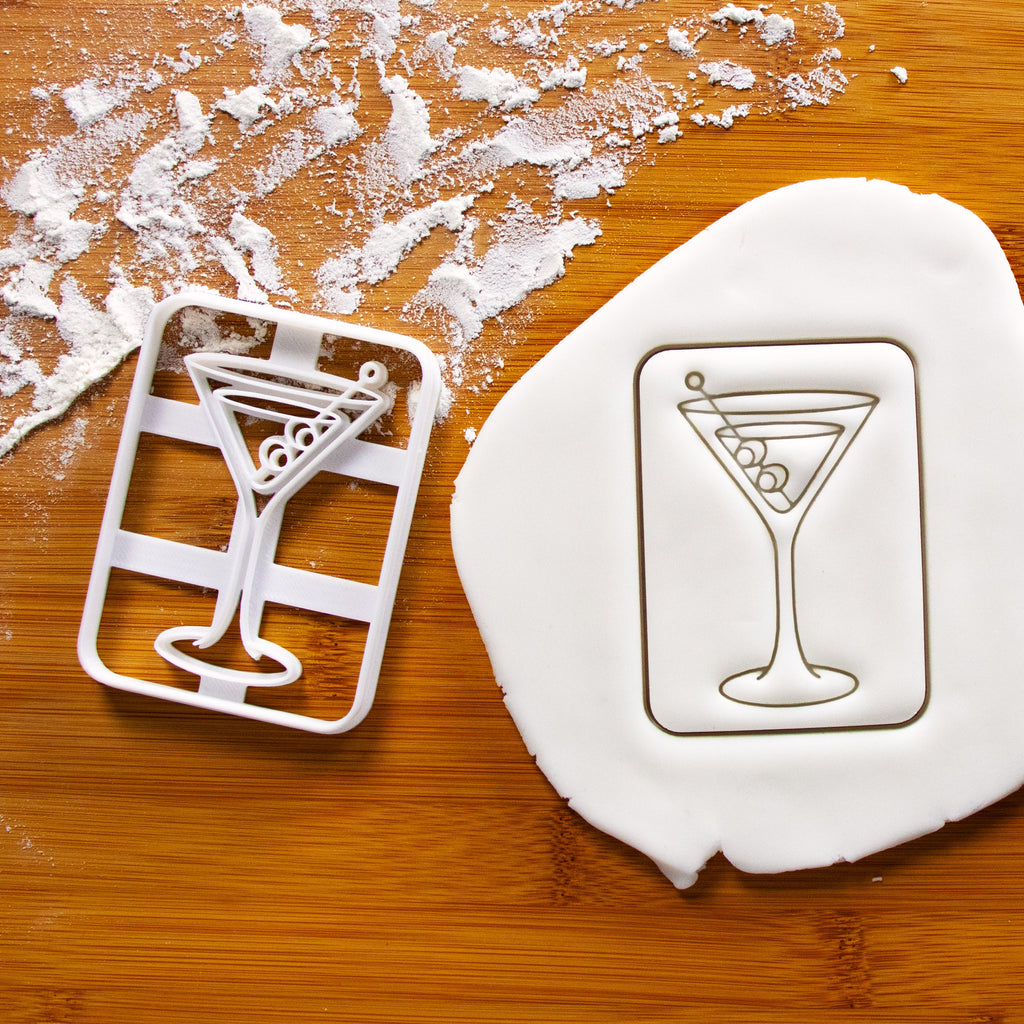 Classic Martini cookie cutter