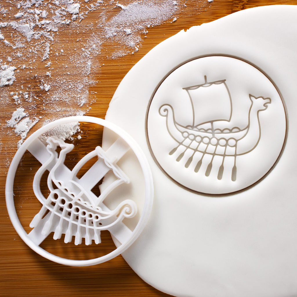 Viking Ship Cookie Cutter