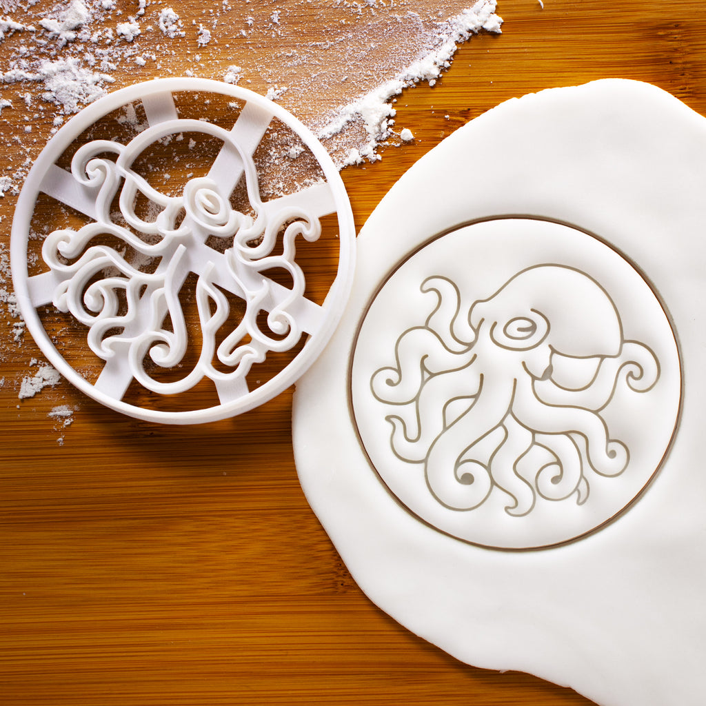 Realistic Octopus Cookie Cutter