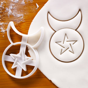 Horned God Cookie Cutter