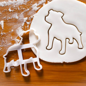 Staffy Staffordshire Bull Terrier Dog Cookie Cutter