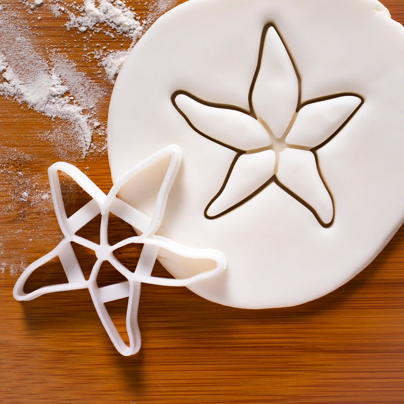 nautical starfish cookies