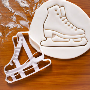 ice skating shoe cookie cutter