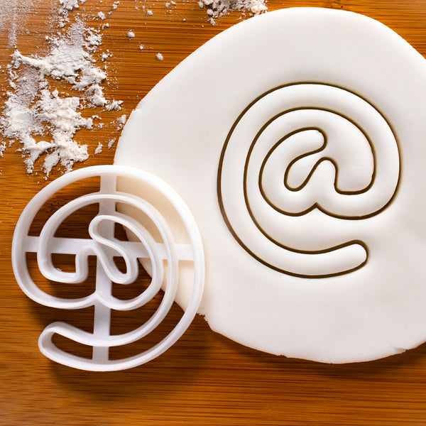 At Symbol cookie cutter