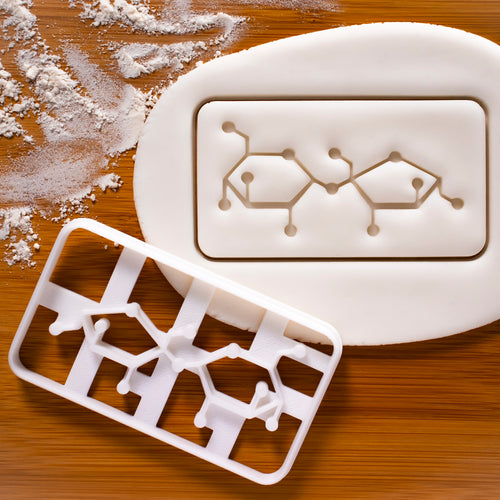 Sucrose Molecule Cookie Cutter