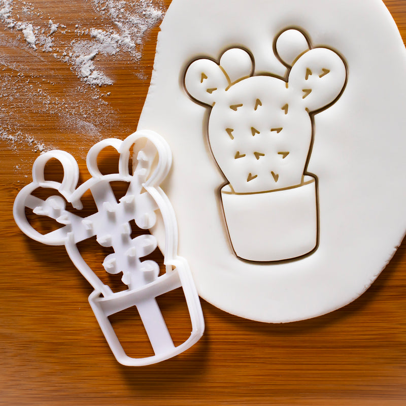 Prickly Pear Cactus Cookie Cutter (Opuntia)