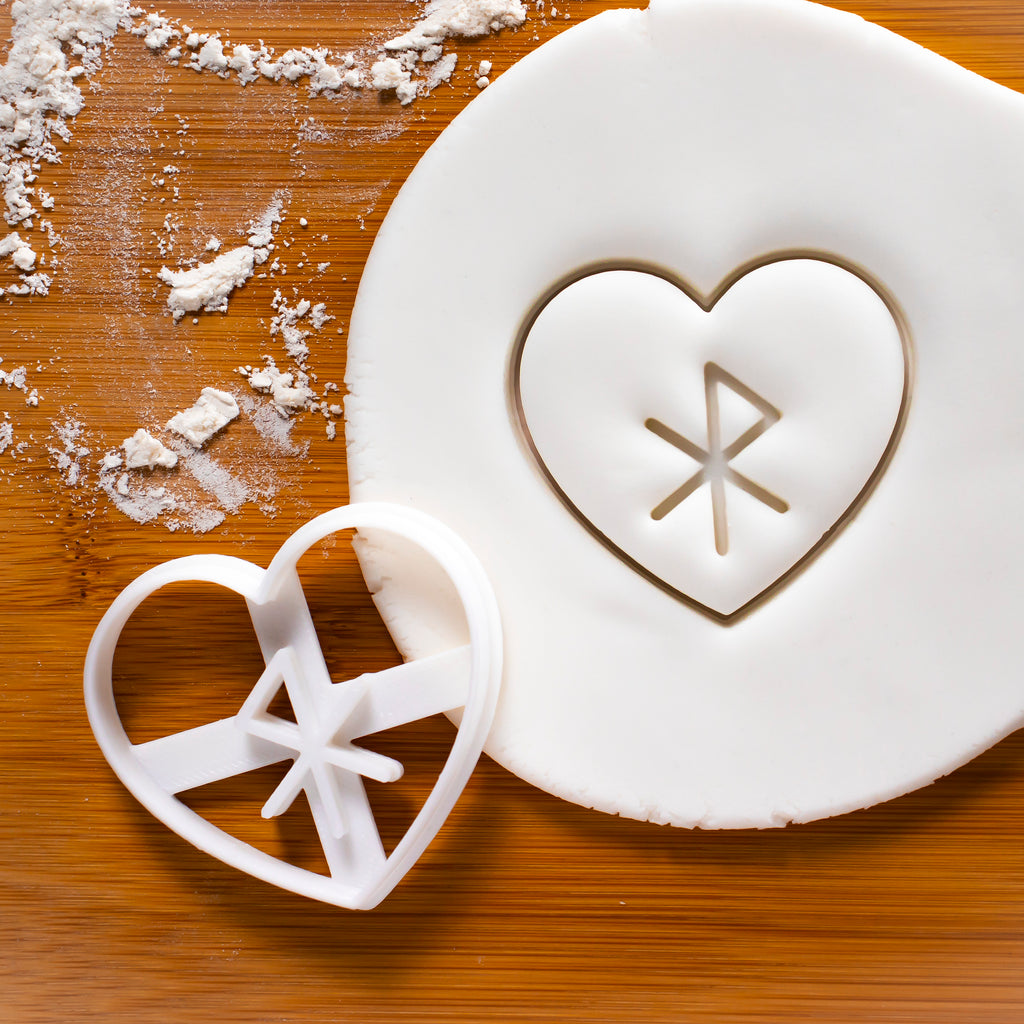 Nordic Rune - Love Cookie Cutter