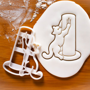 Kitty Scratch Cookie Cutter