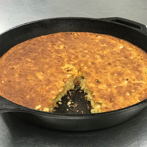 Cast Iron Mexican Corn Bread