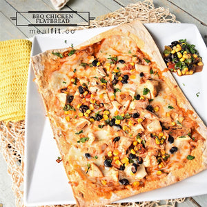 Skinny BBQ Chicken Flatbread