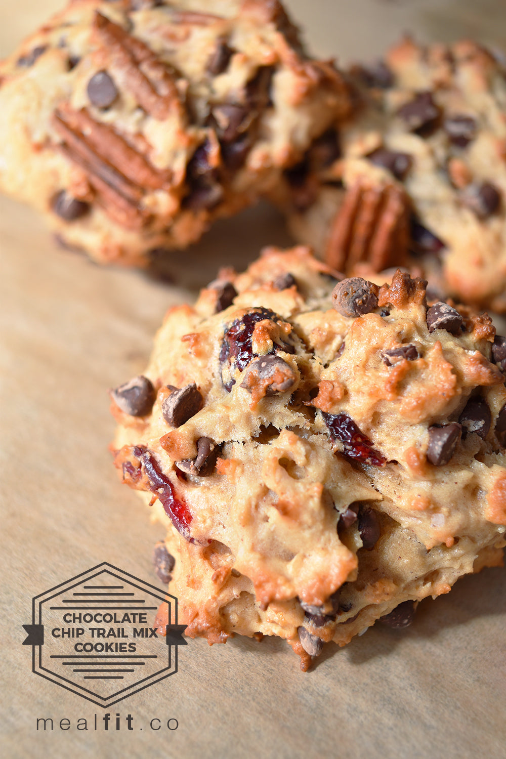 TOA Chocolate Chip Trail Mix Cookies