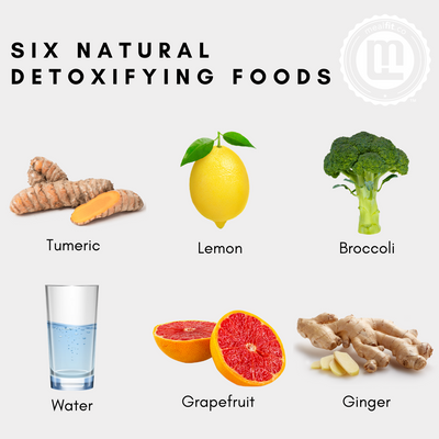 6 Natural Detoxifying Foods