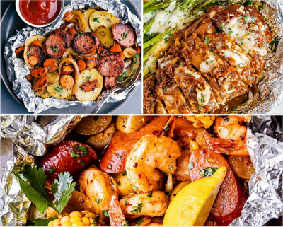 Easy Weeknight Foil Packet Meals to Try