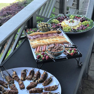 Catering: Coach Clark's Lake Home Event
