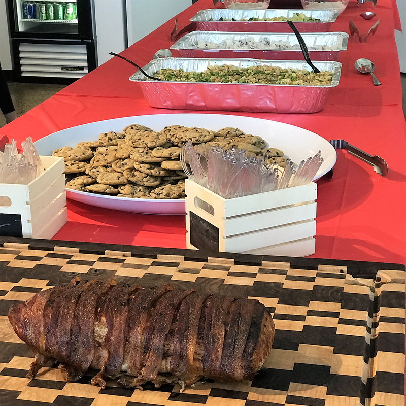 Catering: Daxko Office Family Lunch