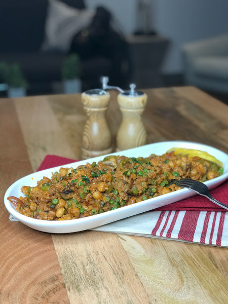 Easy Vegetarian Paella