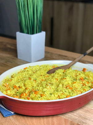 Tumeric Coconut Rice