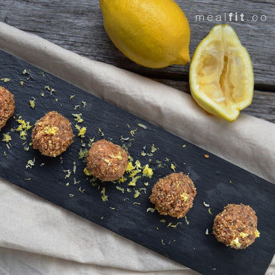 Healthy Lemon Balls