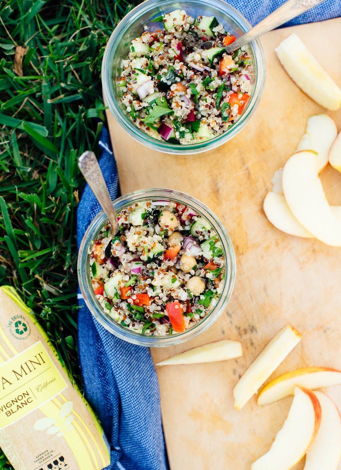 Fresh and Healthy Mediterranean Quinoa Salad