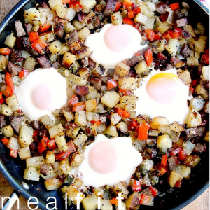 Skillet Steak and Eggs